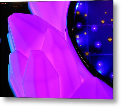 Pink Window To The Stars Metal Print