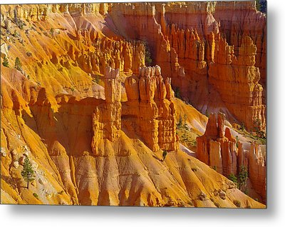 Pinnicles At Sunset Point Bryce Canyon National Park Metal Print by Jeff Swan