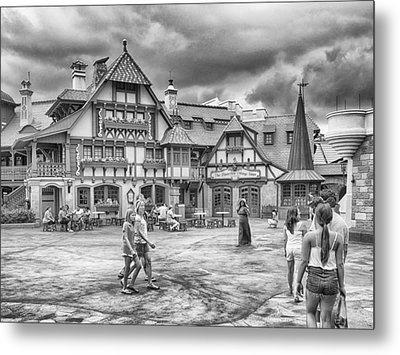 Metal Print featuring the photograph Pinocchio's Village Haus by Howard Salmon