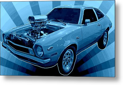 Pinto Return Metal Print