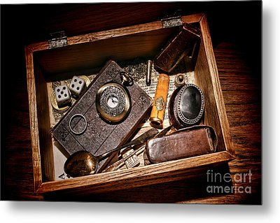 Pioneer Keepsake Box Metal Print by Olivier Le Queinec