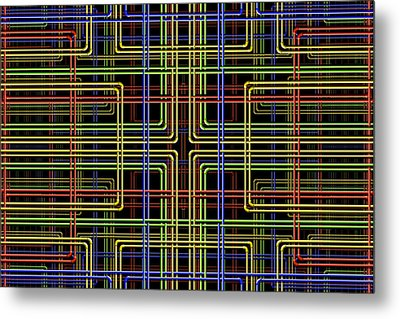 Pipe Dreams 3 Metal Print