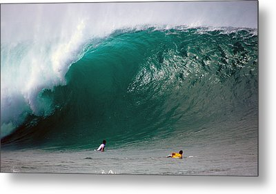 Pipeline Wave Hawaii Metal Print by Kevin Smith