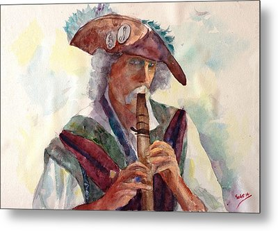 Piper - Fred Mccall Metal Print