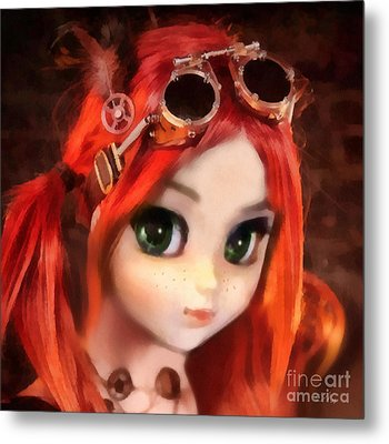 Pippi Metal Print by Mo T
