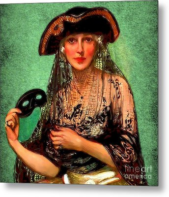 Pirate Jenny Metal Print by Sasha Keen
