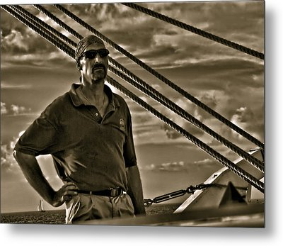 Pirate Of The Keys Metal Print by Perry Frantzman