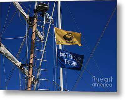 Pirate Rigging Metal Print