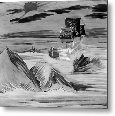 Pirate Ship  Metal Print by Jazzboy