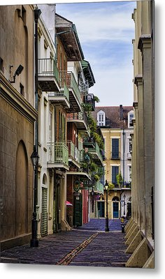Pirates Alley Metal Print