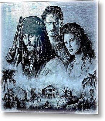 Pirates Metal Print