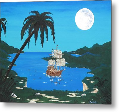 Pirate's Cove Metal Print by Don Miller