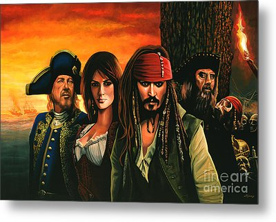 Pirates Of The Caribbean  Metal Print by Paul Meijering