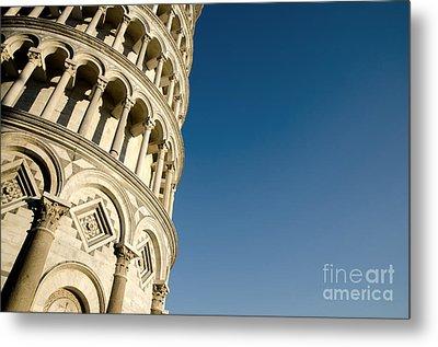 Pisa Tower Metal Print by Mats Silvan