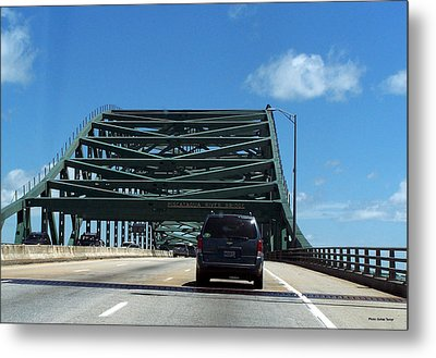 Piscataqua River Bridge Metal Print