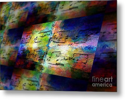 Pitch Space 2 Metal Print