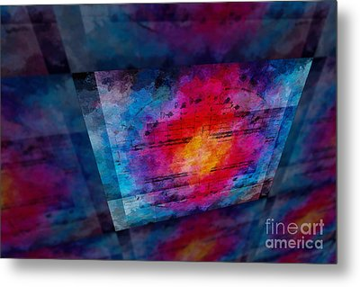 Pitch Space 3 Metal Print