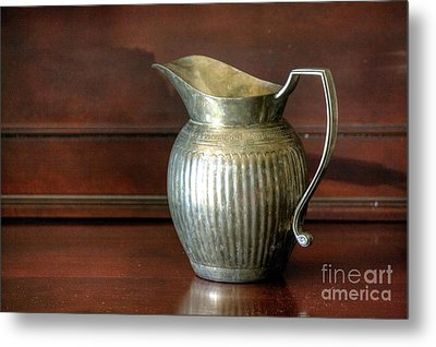 Pitcher Metal Print by Chris Anderson