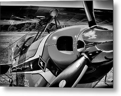 Pitts Sb-2 Biplane Metal Print by David Patterson