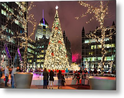 Pittsburgh Holiday Season 2 Metal Print