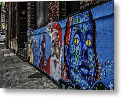 Pittsburgh Mural Metal Print by Anthony Citro