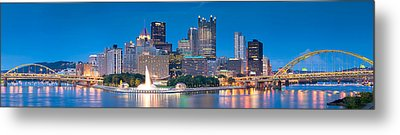 Pittsburgh New 2  Metal Print by Emmanuel Panagiotakis