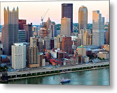 Pittsburgh Pa Metal Print