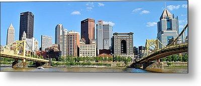 Pittsburgh Panoramic Metal Print