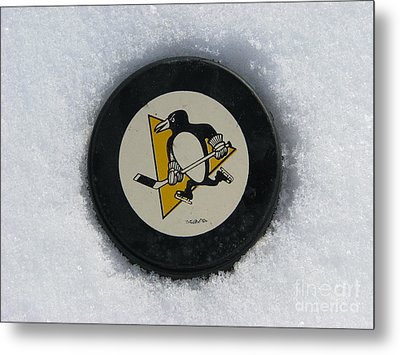 Pittsburgh Penguins Metal Print