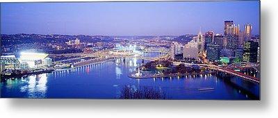 Pittsburgh, Pennsylvania, Usa Metal Print by Panoramic Images