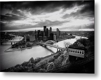 Pittsburgh Skyline1 Metal Print