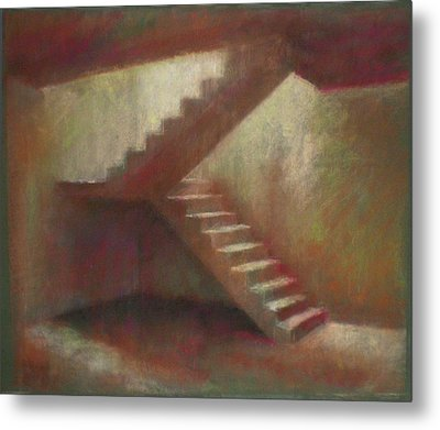 Place With Stairs Metal Print by Paez  Antonio