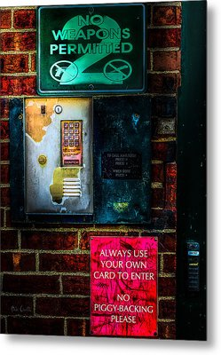 Place Without Windows Metal Print