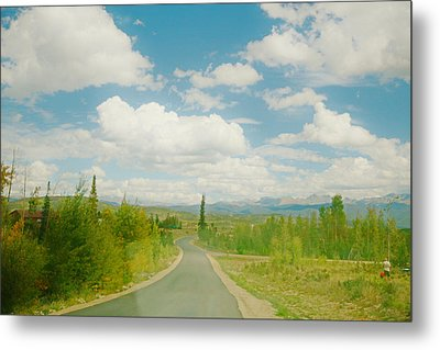 Metal Print featuring the photograph Places To Go And Things To Do by Shirley Heier