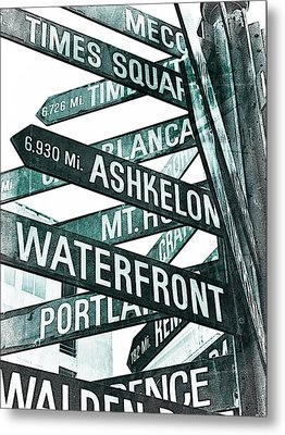 Places To See Metal Print by Cathie Tyler