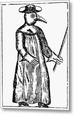 Plague Costume, 1720 Metal Print by Granger