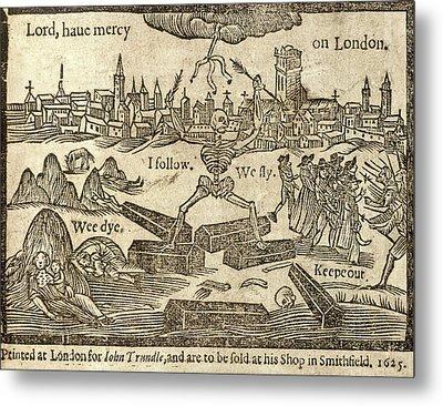 Plague In London Metal Print