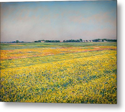 Plain Of Gennevilliers Metal Print by Mountain Dreams