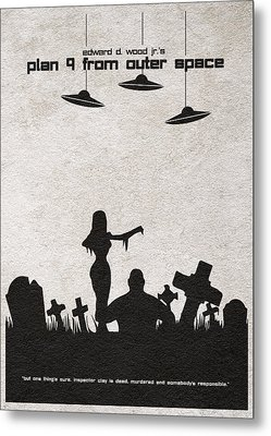 Plan 9 From Outer Space Metal Print
