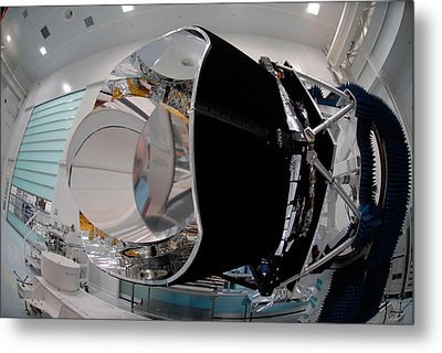 Planck Space Observatory Before Launch Metal Print by Science Source