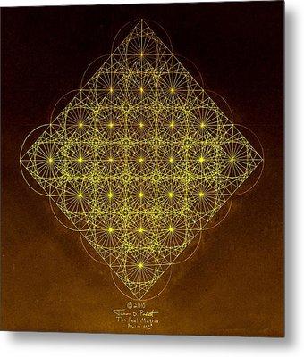 Planck Space Time  Metal Print by Jason Padgett
