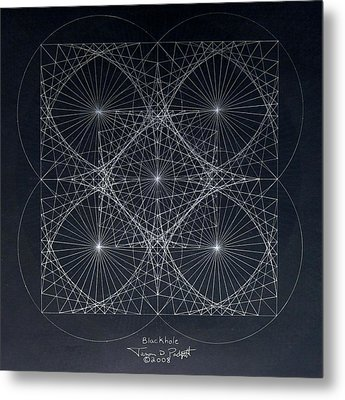 Plancks Blackhole Metal Print