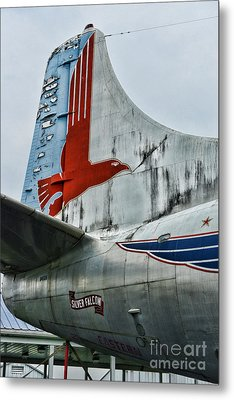 Plane Tail Wing Eastern Air Lines Metal Print by Paul Ward