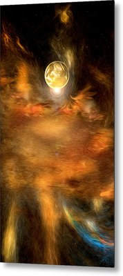 Planet One Metal Print by Daniel Mowry