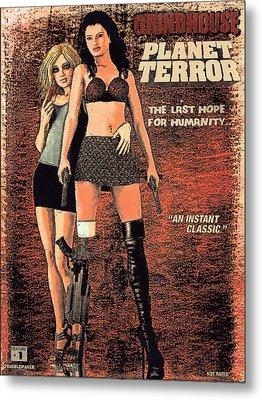 Planet Terror Metal Print