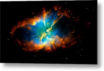 Planetary Nebula Metal Print by Amanda Struz