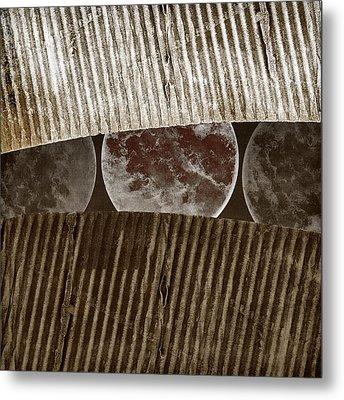 Planetary Progression Metal Print