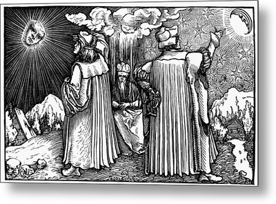 Planetary Systems, 1537 Metal Print by Granger