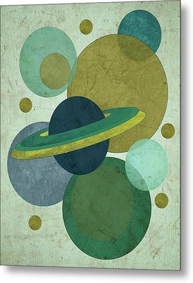 Planets I Metal Print by Shanni Welsh