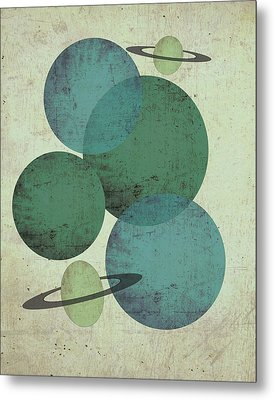 Planets II Metal Print by Shanni Welsh